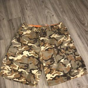 Arizona Jean Company Army Cargo Fatigue Shorts